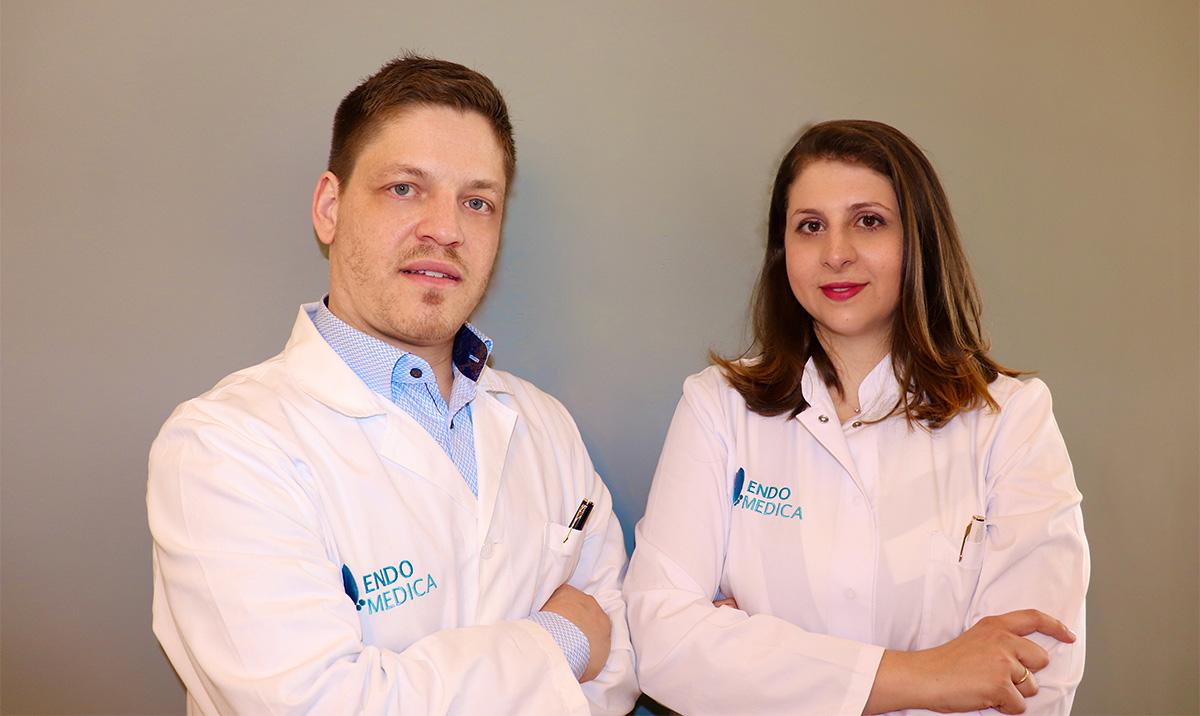 Οι ενδοκρινολόγοι του Endomedica - Die Endokrinologen der Praxis