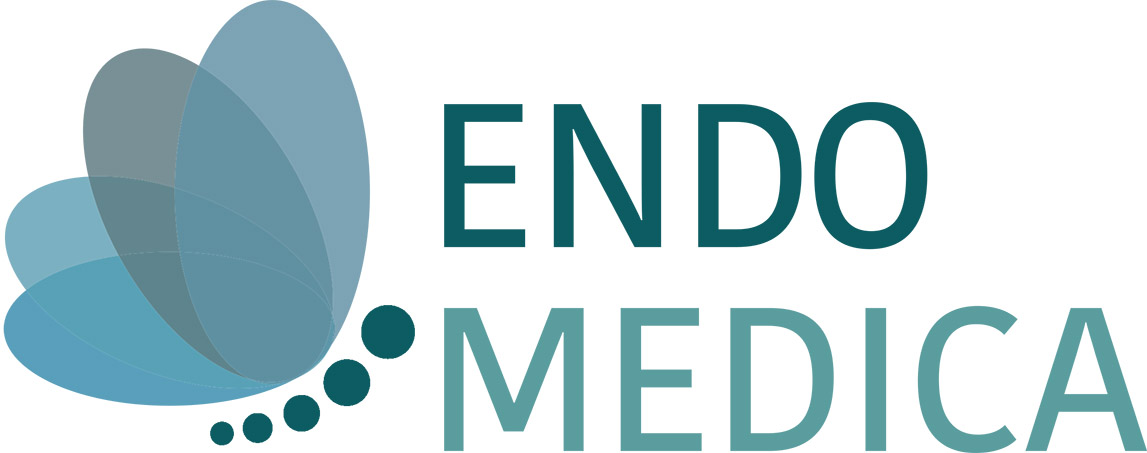 Logo Endomedica white background